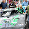 Youngsters got to check out a race car for themselves during Saturday's Mount Hope Jubilee. F. Brian Ferguson/The Register-Herald
