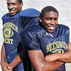 Brothers of the Gridiron Marquis Frazier, left, and Malik Boatwright, right. F. Brian Ferguson/The Register-Herald
