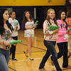 Students at Shady Spring High School received new iPads in the school gym Thursday morning.<br /> Rick Barbero/The Register-Herald