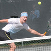 John McEnroe, during the The Greenbrier Champions Tennis Classic.<br /> Rick Barbero/The Register-Herald