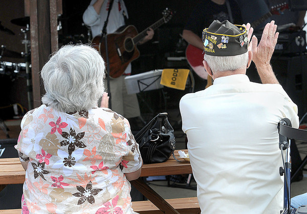 Veterans and their famlies enjoyed some live music during Saturday;s 9th Annual Beckley VAMC Motorcycle and Classic Car show at the Beckley VA. F. Brian Ferguson/The Register-Herald