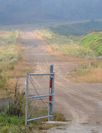 """The entrance to a section of the Coalfields Expressway, between Slab Fork Road and West of Herlen, that is completed to """"at-grade"""" standards. F. Brian Ferguson/The Register-Herald"""