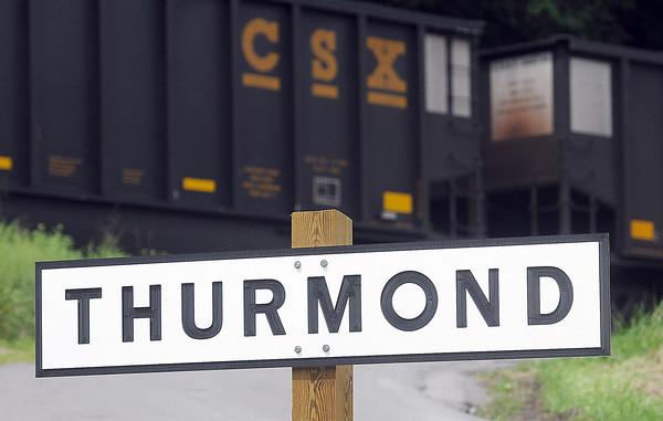 The Railroad town of Thurmond, in Fayette County, is still incorporated even with a town population that can be counted on one hand. F. Brian Ferguson/The Register-Herald