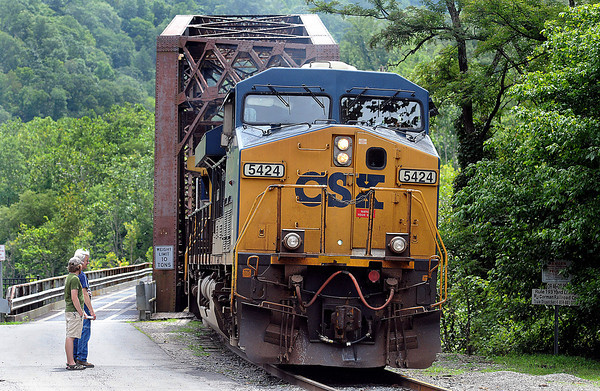 Thurmond still sees it's share of coal cars as well as two, daily Amtrack passanger stops come into it's town. F. Brian Ferguson/The Register-Herald