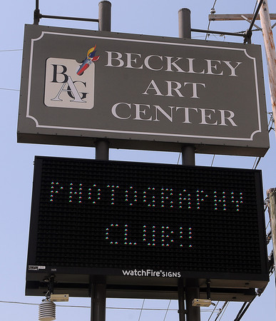 Ron Bailey with the Beckley Art Group's Camera Club F. Brian Ferguson/The Register-Herald