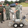 Robot at the State Police Academy.<br /> Rick Barbero/The Register-Herald