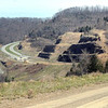 View were the Coalfield Expressway finished section ends at the Slab Fork exit.<br /> Rick Barbero/The Register-Herald