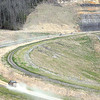 Unfinish portion of the Coalfield Expressway.<br /> Rick Barbero/The Register-Herald