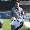 New Orleans Saints practice Tuesday morning at The Greenbrier Resort.<br /> Rick Barbero/The Register-Herald