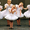 "Brad Davis/The Register-Herald<br /> Young members of Karen's Academy of Dance perform ""Shepherd's Lullaby"" during the company's winter recital ""No Ordinary Night"" Sunday evening in the Woodrow Wilson High School Auditorium."