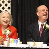 Rick Barbero/The Register-Herald<br /> Charlie Houck and his wife Terri, during the Spirit of Beckley Community Service Award Banquet held at the Beckley-RAleigh County Convention Center Monday night.
