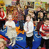 Rick Barbero/The Register-Herald<br /> Students sing Christmas songs using sign language during a Christmas celebration in Marybeth Garcia's Pre-K class at Crescent Elementay School in Beckley Thursday afternoon.