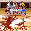 Brad Davis/The Register-Herald<br /> The Woodrow Wilson cheerleading team poses for a quick photo following a practice Thursday afternoon.