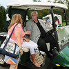 Greenbrier CEO Jim Justice greets fans on Tuesday at the Greenbrier Classic in White Sulpher Springs. F. Brian Ferguson/The Register-Herald