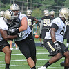 New Orlean's Saints first day of training camp on the new practice fields at The Greenbrier Resort.<br /> Rick Barbero/The Register-Herald