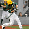 West Virginia's Grant Massey takes a cut during a game against the Chillicothe Paints July 22 at Linda K. Epling Stadium.<br /> Brad Davis/The Register-Herald