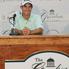 Golfer Brian Anania speaks to the media during a Tuesday press conference at the Greenbrier Classic in White Sulpher Springs. F. Brian Ferguson/The Register-Herald