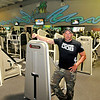 L.A. East Fitness owner David Chinn poses for a quick photo at the gym's Appalachian Drive location Monday morning.<br /> Brad Davis/The Register-Herald