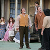 The McCoys have a heated family discussion during Theatre West Virginia's Hatfields & McCoys Friday night at Grandview Park's Cliffside Amphitheatre.<br /> Brad Davis/The Register-Herald