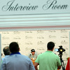 Golfer Bubba Watson speaks to the media during a Tuesday press conference at the Greenbrier Classic in White Sulpher Springs. F. Brian Ferguson/The Register-Herald