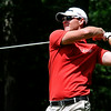 Christian Brand tees off during the West Virginia Open Pro-Am Monday afternoon at Glade Springs Resort's Cobb golf course.<br /> Brad Davis/The Register-Herald