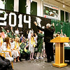 Graduating seniors from Wyoming East High School celebrate at the conclusion of the school's commencement ceremony June 1 in New Richmond. <br /> Brad Davis/The Register-Herald