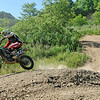 War resident Chase Muncy tears around the track at Burning Rock Off-Road Park near Tams June 15 during the final day of Thrills in the Hills.<br /> Brad Davis/The Register-Herald