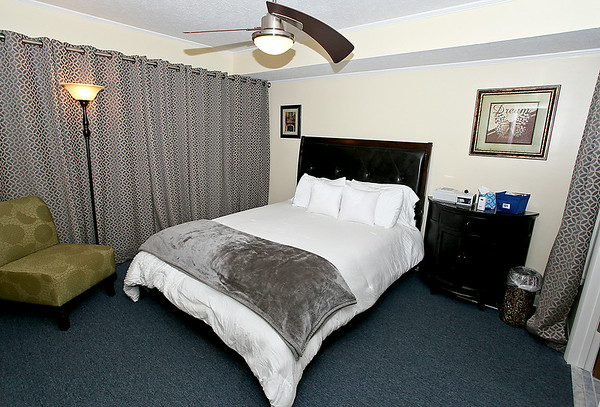 The newly-opened West Virginia Sleep Centers offers just about any type of service relating to sleep. Their building at the Mallard Court Medical Park resembles a mix between a hotel and research facility, with suites such as this one where doctors monitor one's sleep cycle in a control room to determine where any sleeping issues may be occuring. <br /> Brad Davis/The Register-Herald
