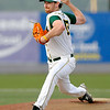 West Virginia starting pitcher Seth Noreman delivers during the Miners' game against Richmond Monday night at Linda K. Epling Stadium.<br /> Brad Davis/The Register-Herald