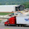 Freemay traffic along I-64 West gets a good look on Wednesday as work continues on the new facilities building for the New Orleans Saints summer camp at the Greenbrier. F. Brian Ferguson/The Register-Herald