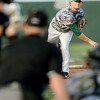 West Virginia Miners pitcher #34 delievers against Richmond during Wednesday action in Beckley. F. Brian Ferguson/The Register-Herald