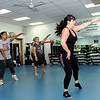 Instructor Tammy Hancock, right, leads her Thursday Piloxing Class. F. Brian Ferguson/The Register-Herald
