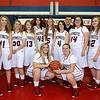 Brad Davis/The Register-Herald<br /> The 2014-15 Independence Patriots girls basketball team.
