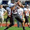 Brad Davis/The Register-Herald<br /> PikeView quarterback Justin Hopper drops back to pass against Shady Spring September 27.