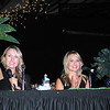 Rick Barbero/The Register-Herald<br /> Erin Barnett, left, Courtney Clark, and Kristen Ketchel were judges friday night during the United Way of Southern West Virginia Dancing with the Stars event held at the Beckley-Raleigh County Convention Center.