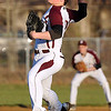 Brad Davis/The Register-Herald<br /> Woodrow Wilson starting pitcher Michael Maiolo delivers during the Flying Eagles' rout of Capital Wednesday evening in Beckley.