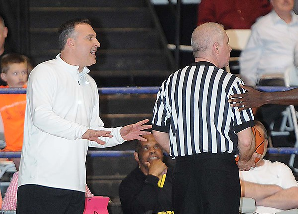 Rick Barbero/The Register-Herald<br /> Class AA/A Scott Brown Little General Classic all star game held at the Beckley-Raleigh County Convention Center.