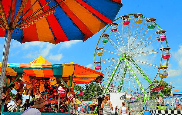Rick Barbero/The Register-Herald<br /> The WV State Fair in Fairlea.