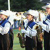 Rick Barbero/The Register-Herald<br /> Princeton marching band performing before game against Shady Spring at Hunnicut Stadium in Princeton Friday night.