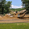 Brad Davis/The Register-Herald<br /> Construction continues on an Affinity Coal project situated near the foot of the hill along Independence Road Friday afternoon.