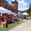 Brad Davis/The Register-Herald<br /> Many vendors were on hand serving up good food and offering a variety of arts and crafts during the State Water Festival Aug. 1 in Downtown Hinton.