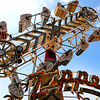 Rick Barbero/The Register-Herald<br /> Zipper ride at The WV State Fair in Fairlea.