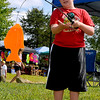 Brad Davis/The Register-Herald<br /> 10-year-old Cameron Allman reels in a fish during the Summersville Lake Lighthouse Festival Saturday afternoon in Mount Nebo.