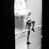 """Mia Bennett, 12, warm's up before her performance of """"our Christmas Song to You"""" with other students of Karen's Academy of Dance's A Season of Faith, Love and Dance at the Woodrow Wilson High School Auditorium in Beckley on Saturday."""