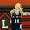 Brad Davis/The Register-Herald<br /> Meadow Bridge's Kayli Persinger fires a pass down the court during a game at Liberty December 4 in Glen Daniel.