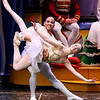 Brad Davis/The Register-Herald<br /> Professional dancers Andrea Harvey and Telmo Moreira perform during Beckley Dance Theatre's The Nutcracker Sunday afternoon inside the Woodrow Wilson High School Auditorium.
