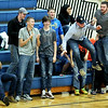 Summers County students react to a play during the Championship game of the Rogers Oil Classic girl basketball game against Chapmanville at Summers County in Hinton on Saturday.