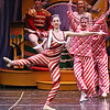 "Brad Davis/The Register-Herald<br /> The Czarina (nearest), played by Emily Cernuto, dances during the ""Russian Cany Canes"" portion of Beckley Dance Theatre's The Nutcracker Sunday afternoon inside the Woodrow Wilson High School Auditorium."