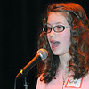 Rick Barbero/The Register-Herald<br /> Katie Mills, Raleigh Educational Association of Christian Homeschoolers, spelled basmati correctly to win the Raleigh County Middle School Spelling Bee held at Woodrow Wilson H.S. Auditorium Wednesday morning.