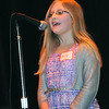Rick Barbero/The Register-Herald<br /> Kelly Mills, Raleigh Educational Association of Christian Homeschoolers, spelled egregious wrong and was the runner-up during the Raleigh County Middle School Spelling Bee held at Woodrow Wilson H.S. Auditorium Wednesday morning.